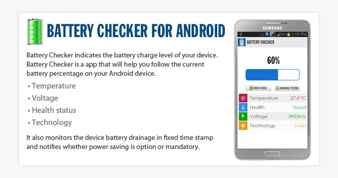 Android Battery Checker