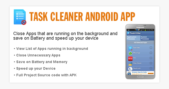 Android Task Cleaner