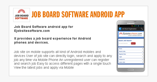 Job Board Software Android App