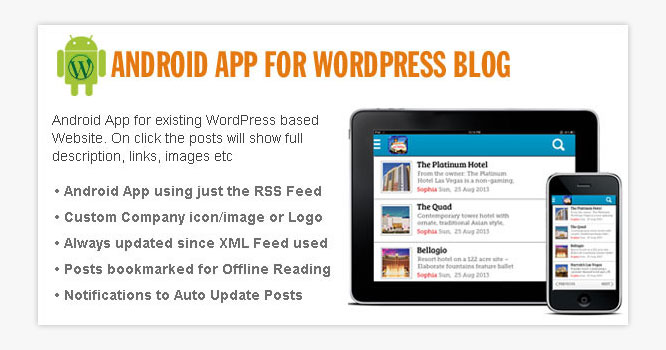 Android App for WordPress