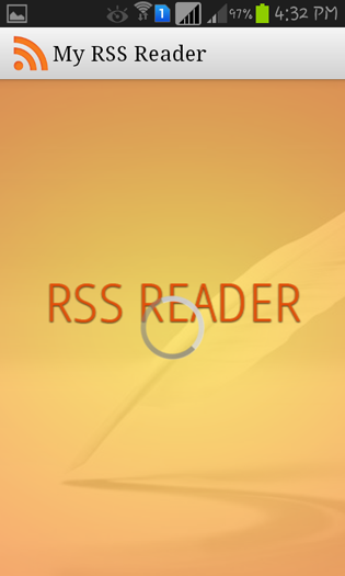 Screenshots - Android RSS Reader