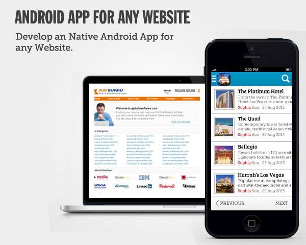 Native Android App for Any Website