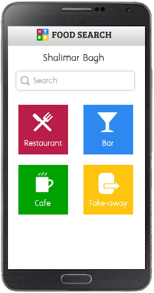 Food Search Template