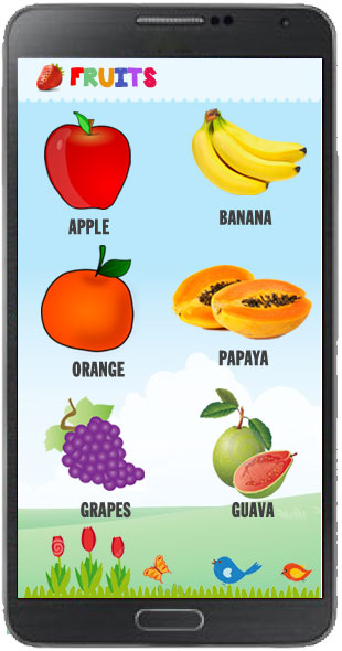 Fruits Quiz Template