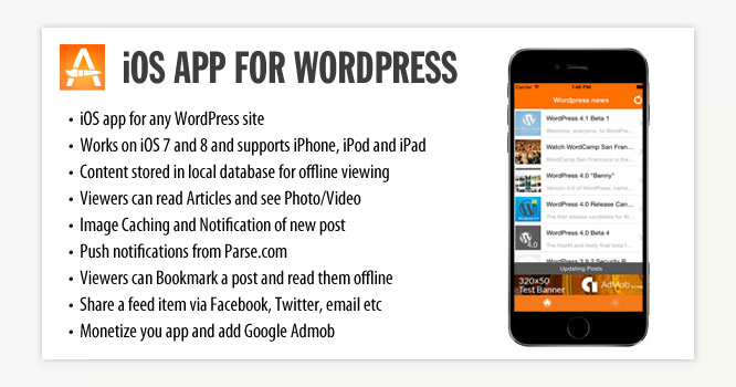 iOS App for WordPress