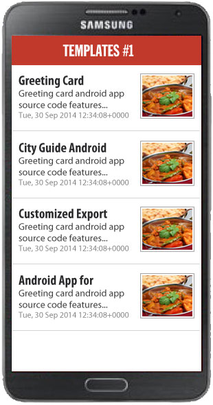 Mobile Apps Templates