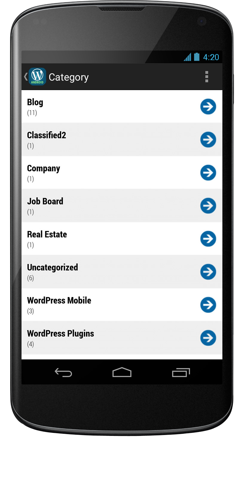 Auto Classified Mobile App