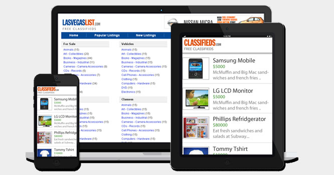 Classifieds Mobile App