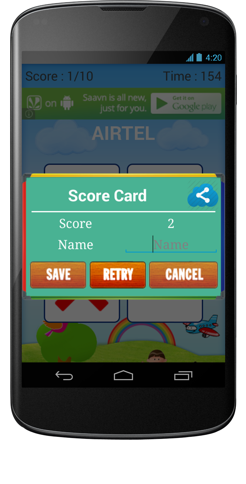 mobile android app