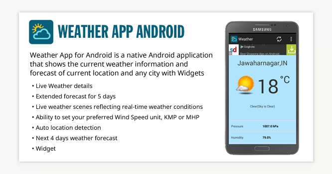 Weather App  Android