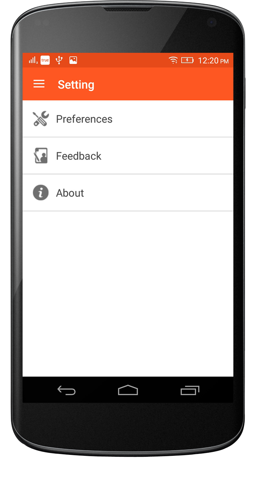RSS Android App