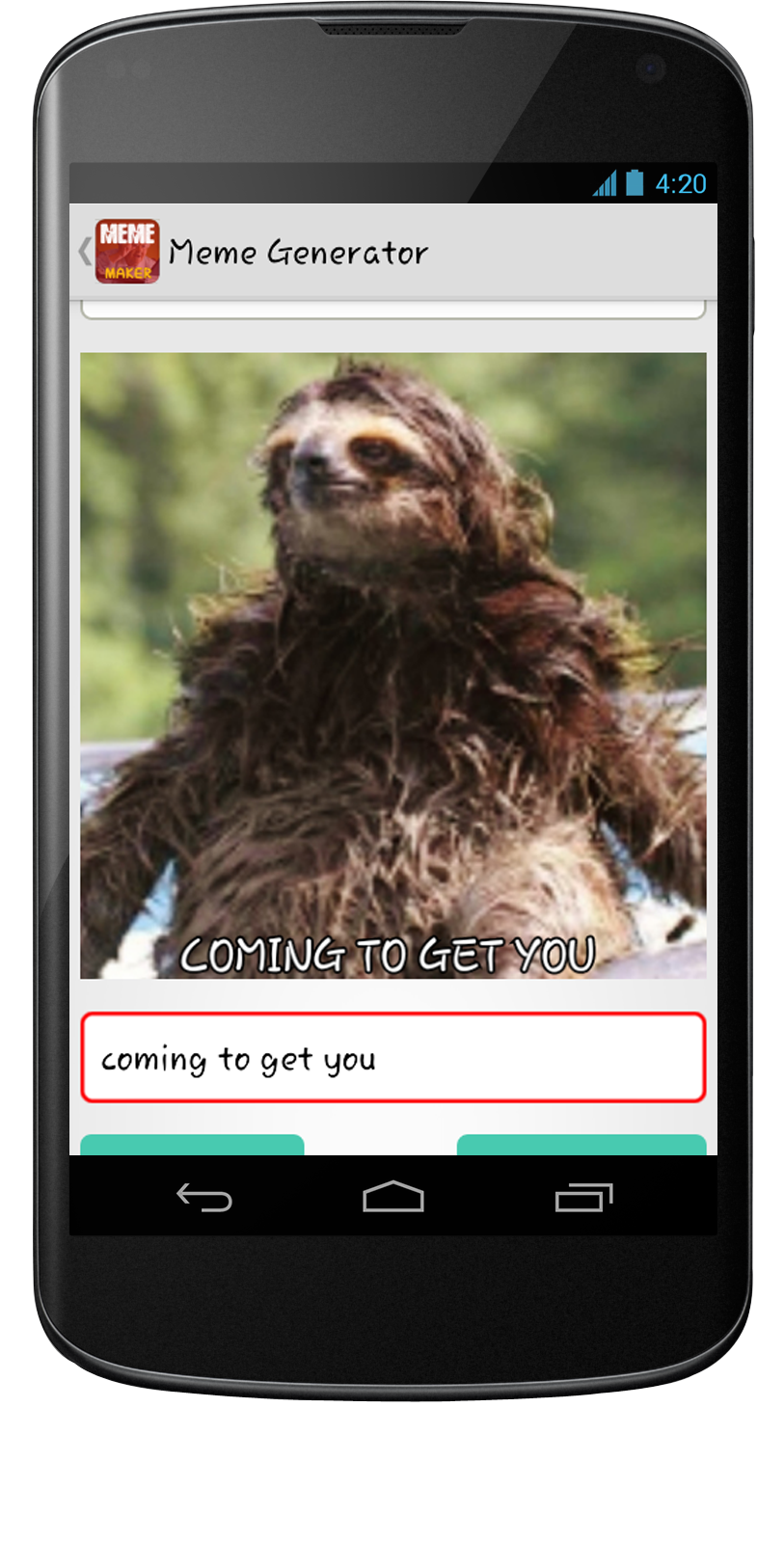 Meme Generator Android App - Mobile App Development, Android App