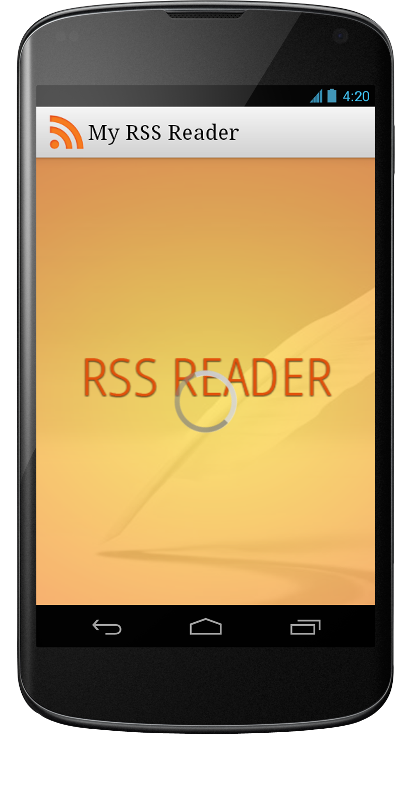 Android RSS Reader