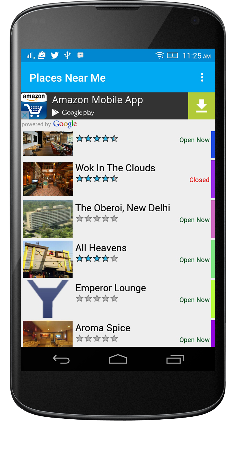 Place Near Me Android App