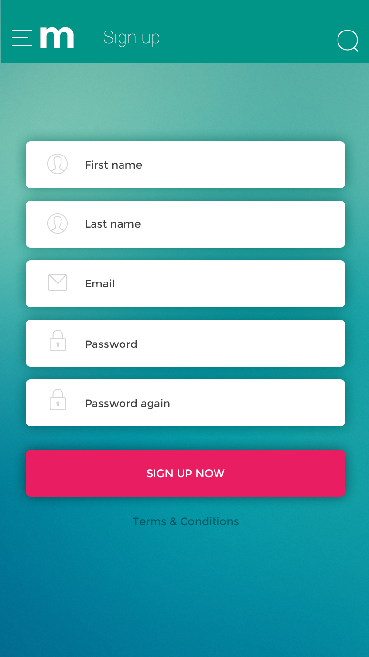 Membership Management Mobile UI Kit