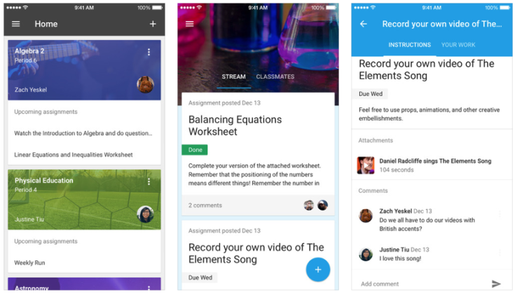 Google Launches Classroom Android And iOS Mobile Apps