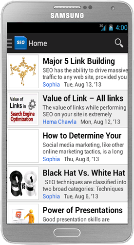 SEO Articles Android App