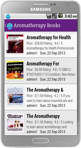 Aromas Therapy Android App