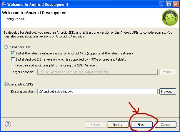 Setup Android Development Environment