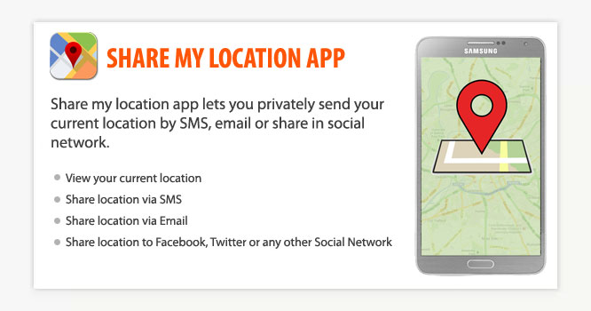 Share My Location App