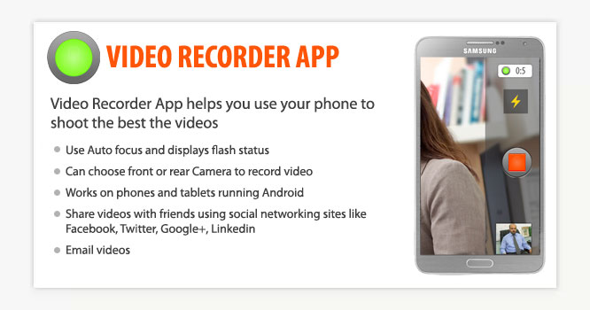 Video Recorder Android App
