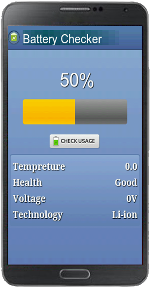 Battery Checker Mobile Template