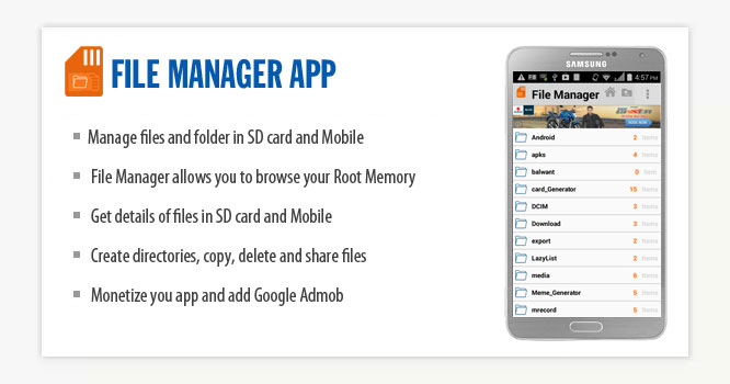 File Manager Android App