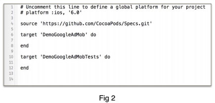 How to Add Admob in iOS app