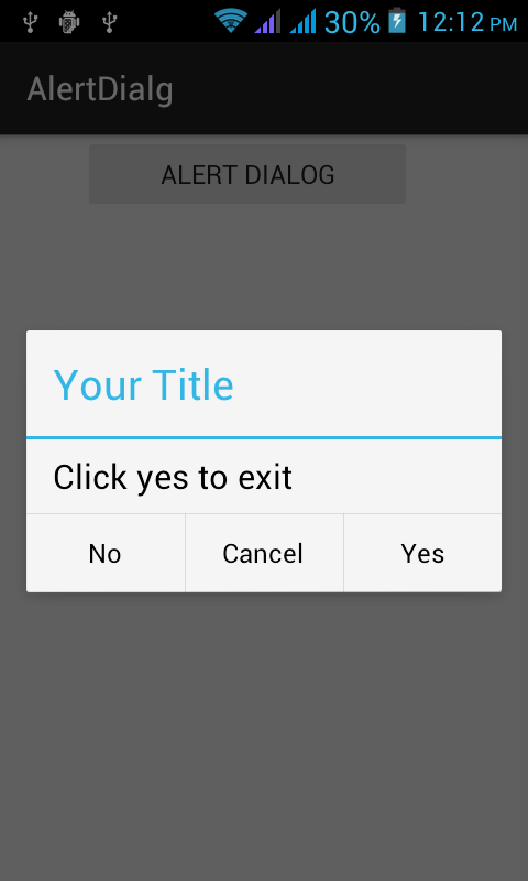 How To Show Alert Dialog in Android