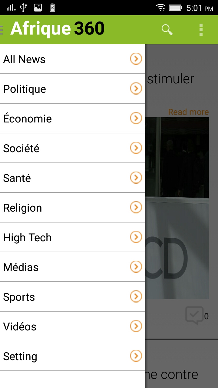 Senego News Android App
