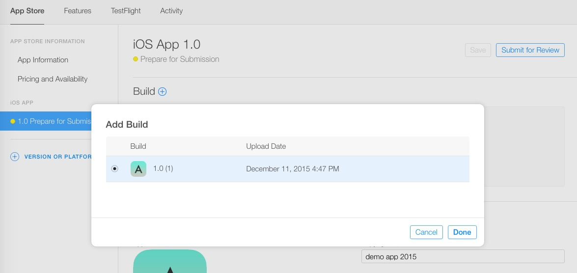 How to submit an iPhone App to iTunes store