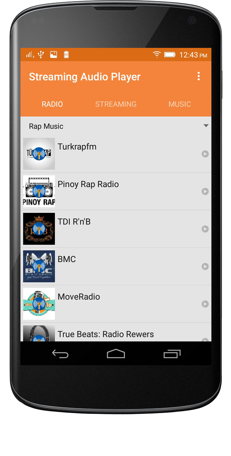 Audio Player Android App