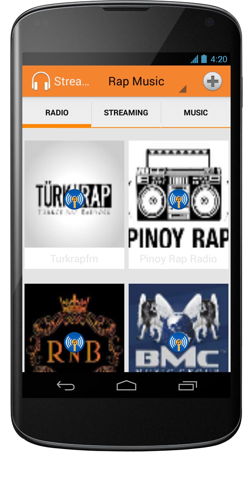 Streaming Audio Player
